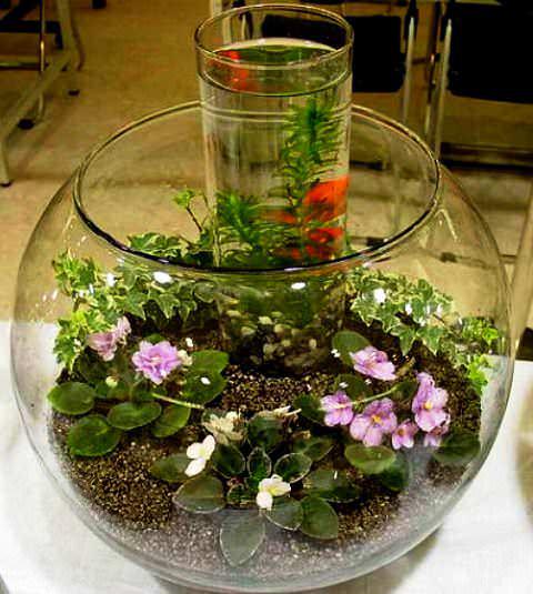 Цветы в стекле своими руками пошагово 60
