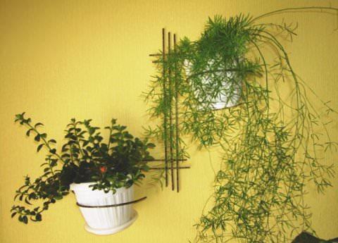 Металлические подставки под растения